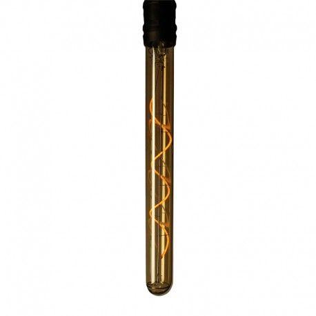 Ampoule LED à filament Spirale Longue T28 – E27 – 4W – Dimmable