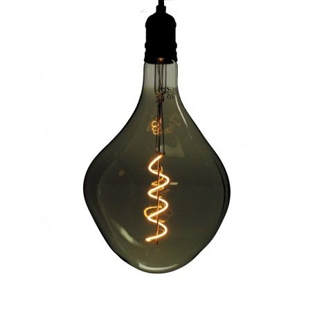 Ampoule LED filament Spirale cabot Smoky - E27 - 4W - 2200K - Dimmable - PS165