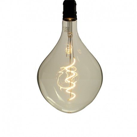 Ampoule LED filament Spirale cabot Smoky - E27 - 4W - 2700K - Dimmable - PS165