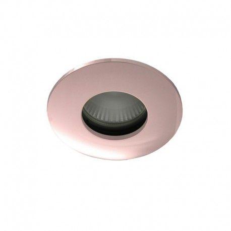 Collerette ronde flat SPLIT - Or rose