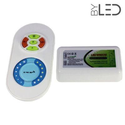Télécommande de température de couleurs (CCT) radio