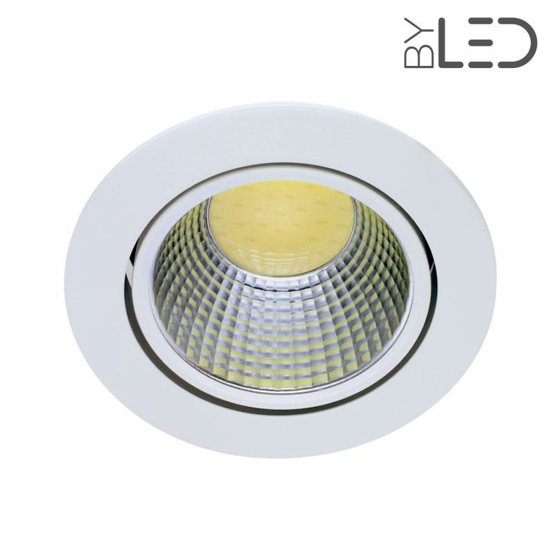 Spot led int rieur encastrable et orientable 10w cobra for Spot led interieur encastrable