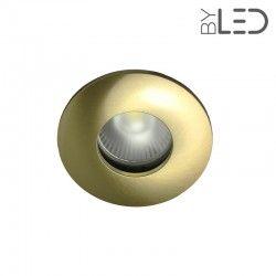 Spot encastrable GU10 BBC / RT2012 - Rond convex SPLIT - Or satiné - Split