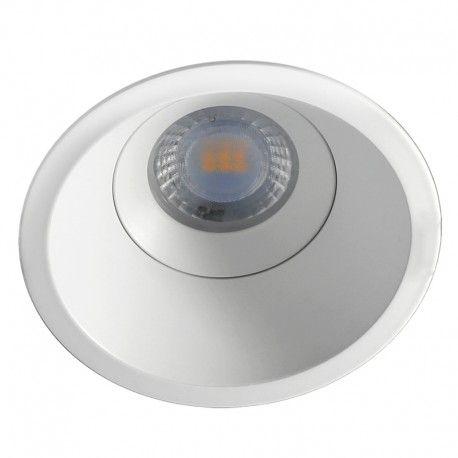 Spot encastrable anti-éblouissement IP65 – BBC – LED GU10 – Blanc