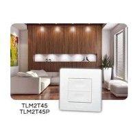 Télécommande murale 2 touches power TLM2T45P - Yokis