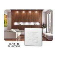 Télécommande murale 4 touches power TLM4T45P - Yokis