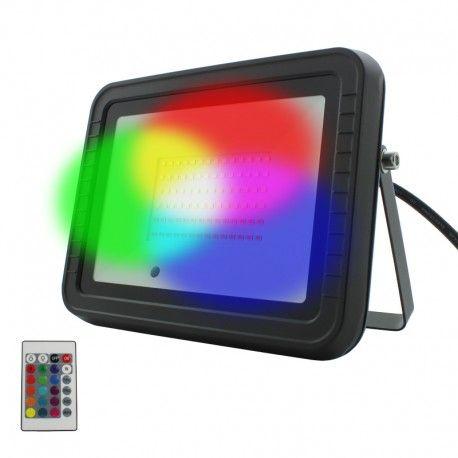 Projecteur LED RGB 50W – IR