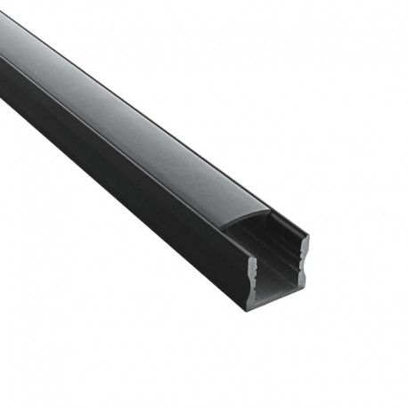 Profilé aluminium noir pour ruban LED - CRAFT - C03