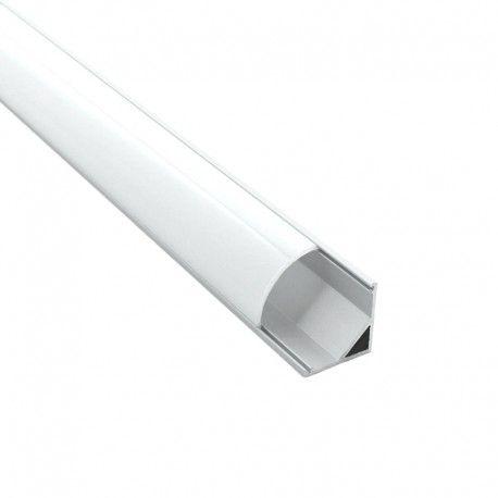 Profilé aluminium d'angle pour ruban LED par ByLED.fr