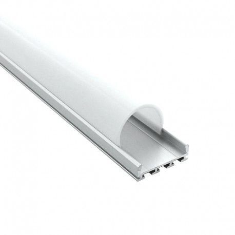 Profilé LED aluminium LED demi-tube - CRAFT - C13