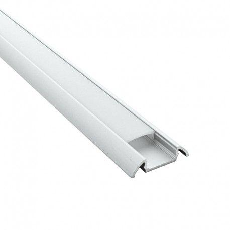 Profilé aluminium plat pour ruban LED - CRAFT - 11