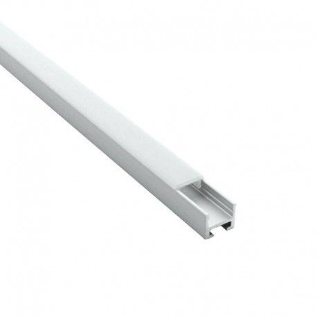 Profilé magnétique pour ruban LED étroit – CRAFT – C15 - Diffuseur givré