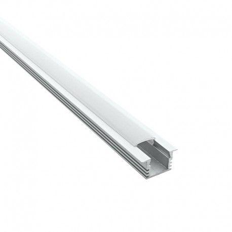 Profilé aluminium encastrable pour ruban LED - CRAFT - E02