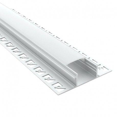 Profilé aluminium d'angle pour ruban LED - CRAFT - E12