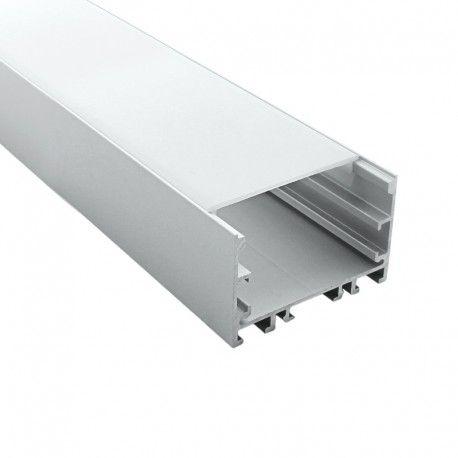 Profilé LED aluminium ruban LED large - CRAFT - C12