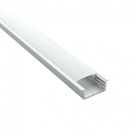 Profilé LED aluminium encastrable large - CRAFT - E08