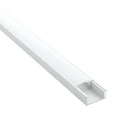 Profilé aluminium pour ruban LED - CRAFT - C06 Blanc
