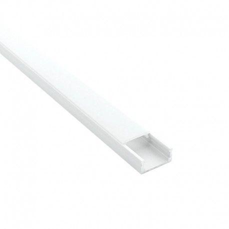 Profilé aluminium pour ruban LED miniature - CRAFT - C01 Blanc