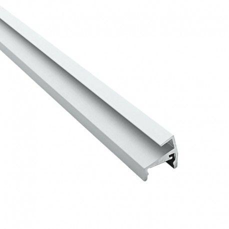 Profilé aluminium étagères en verre 6 mm pour ruban LED - CRAFT - V01