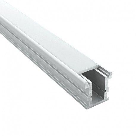 Profilé aluminium sol pour ruban LED - CRAFT - F02