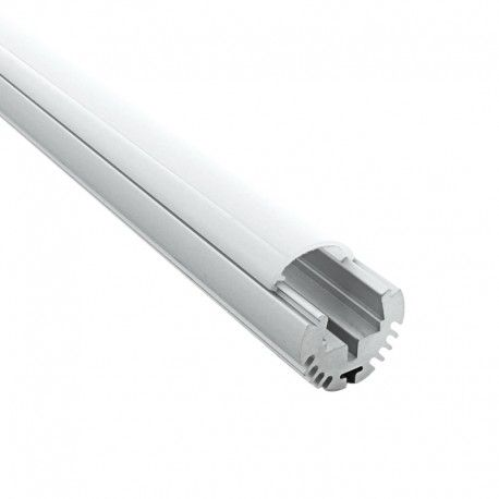 Profilé aluminium tube pour ruban LED - CRAFT - T01
