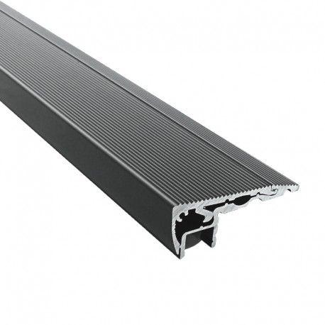 Profilé aluminium marches escaliers pour ruban LED - CRAFT - S01