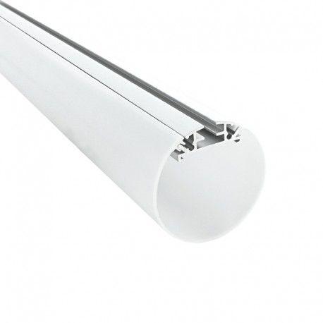 Profilé LED aluminium rond pour suspension – CRAFT – T03- Diffuseur givré