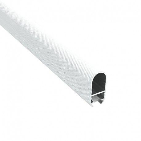 Profilé LED aluminium pour penderie et dressing - T02 - Diffuseur givré