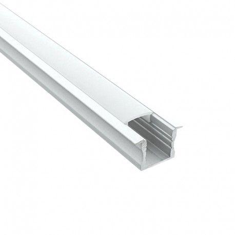 Profilé aluminium encastrable pour ruban LED - CRAFT - E04