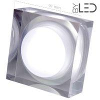 Spot LED cristal 7W - Frost 7 Carré