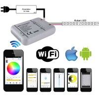 Contrôleur WIFI iOS - ANDROID universel pour rubans LED