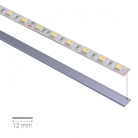 Profilé LED aluminium plat - CRAFT - P01