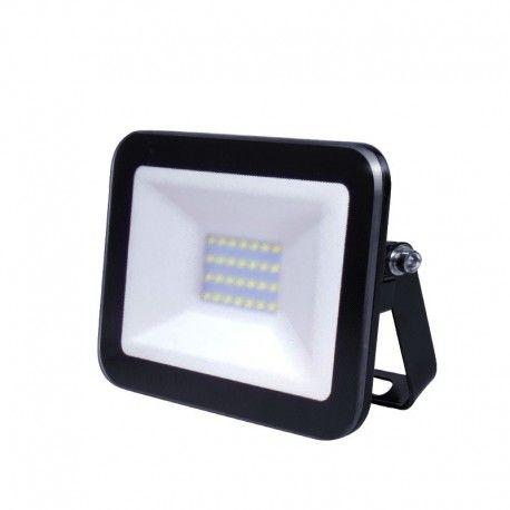 Shape – Projecteur LED ultra plat 20W Noir - 230V - extérieur/intérieur