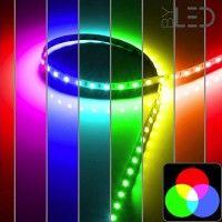 Ruban IP65 5050 - RGB - 14,4W/m - 60 LED/m - 5m