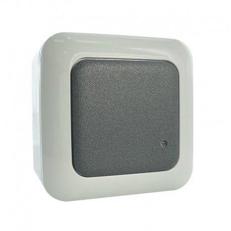 Interrupteur avec détecteur de mouvement HF mural étanche – GR14