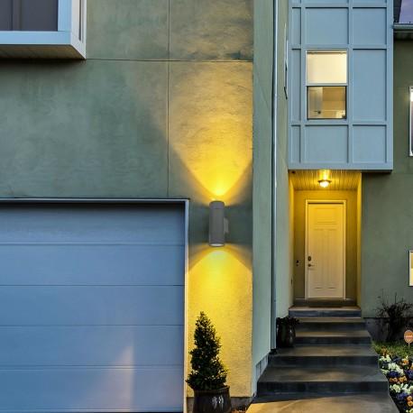Applique LED murale extérieure Up & Down – 12W – Roler-12 - 230V