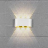 Applique LED murale blanche triple direction 6x1W - Focal-3