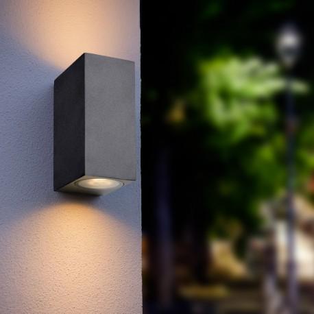 Spot LED mural orientable double GU10 – Twins