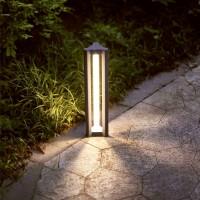 Borne LED Triac - 61 cm – 17 Watts - 230V - Anthracite