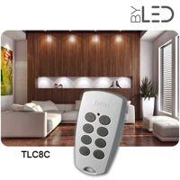 Télécommande 8 canaux POWER TLC8CP - Yokis
