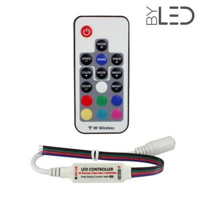 Contrôleur Mini + télécommande RGB radio – Jack