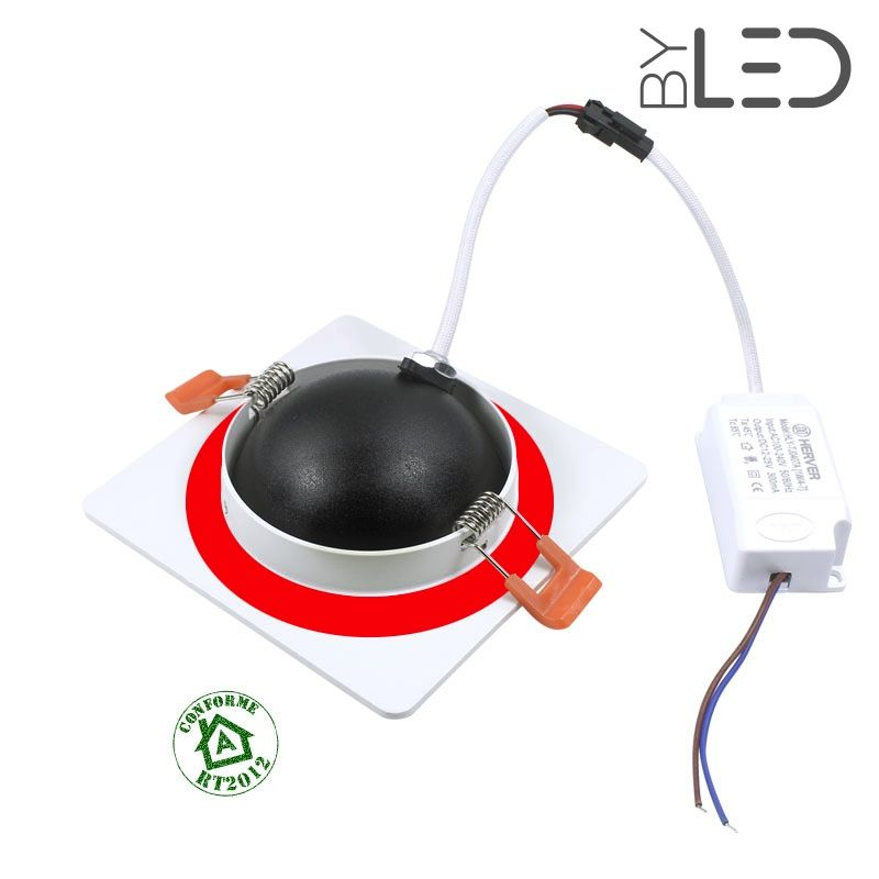 spot led encastrable orientable ip64 bbc rt2012 7w. Black Bedroom Furniture Sets. Home Design Ideas