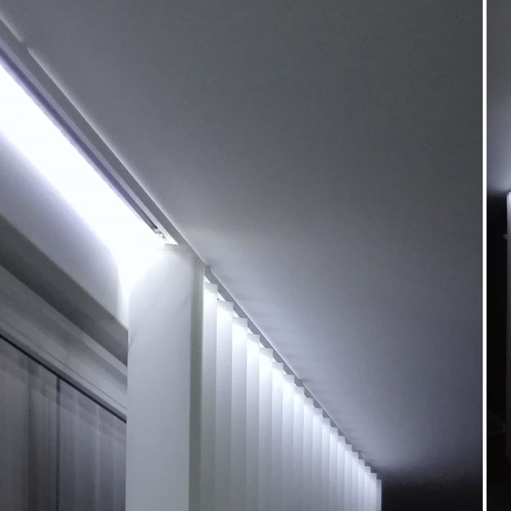 Bandeau Led Encastrable Plafond profilé aluminium encastrable pour ruban led - craft - e12