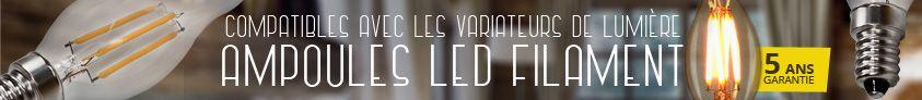 ampoule led filament e14 vintage france