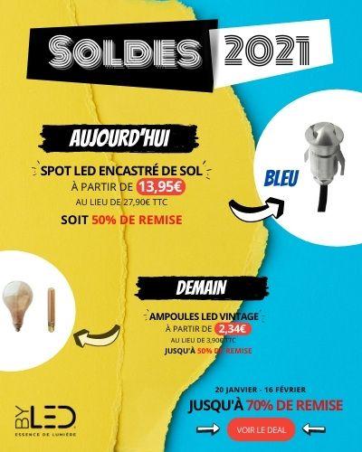 Soldes 2021 - 1 jour = 1 offre