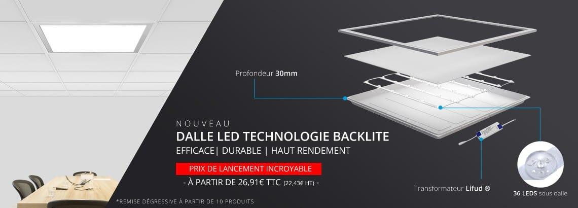 Découvrez nous nouvelles dalles LED 60 x 60